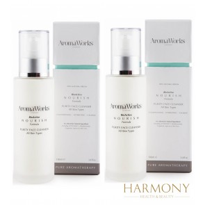 2 x AromaWorks Purity Face Cleanser