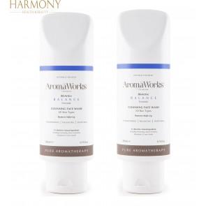 2 x AromaWorks Balance Face Wash