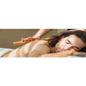 Men's Warm Bamboo Massage