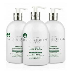 3 x Baylis & Harding Antibacterial Luxury Wash Jasmine & Apple Blossom