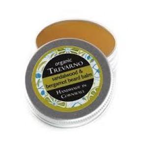 Organic Trevarno Sandalwood & Bergamot Beard Balm Tin
