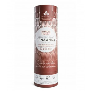 Ben & Anna Soda Natural Deodorant Nordic Timber
