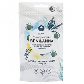 Ben & Anna Shower Gel Tablets Aqua 120g