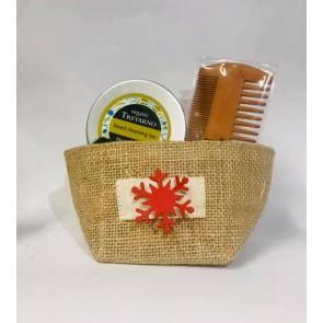 Organic Trevarno Beard Cleansing Bar & Beard Comb