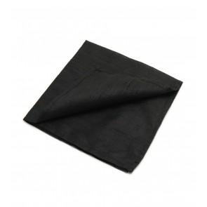 Large 100% Silk Reading Cloth Black