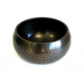 Black Beaten Bowl