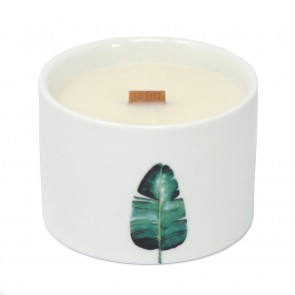 Botanical Wooden Wick Soy Candle