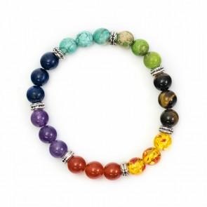 Chakra Bracelet Mixed Beads