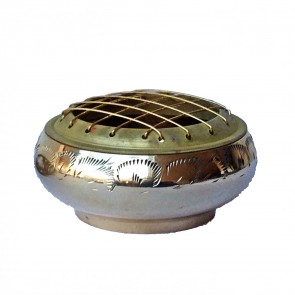 Brass Incense Burner Bowl