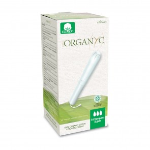 Organyc Organic Cotton Tampons with Applicator Super