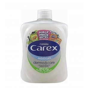 Carex Handwash Derma Care Moisture Plus 500ml With Cap Lid