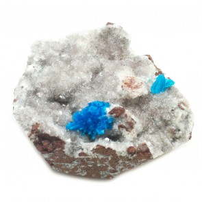 Cavansite with Metrics Healing Crystal
