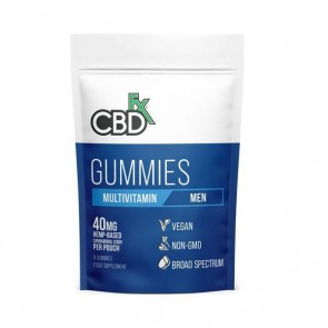 CBD FX Multivitamin Men's Gummies 40mg 8ct