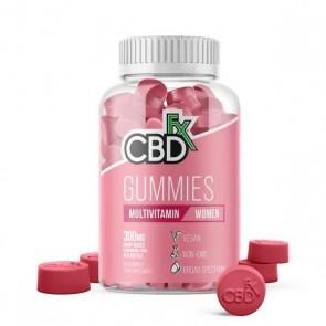 CBD FX Multivitamin Women's Gummies 300mg 60 gummies
