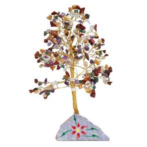 Handmade Gemstone Chakra Chip Tree