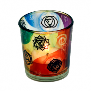 Chakras Tea Light Candle Holders