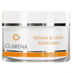 Clarena Acid Line Shicimic & Lactic Anti Wrinkle Moisturising Night Cream