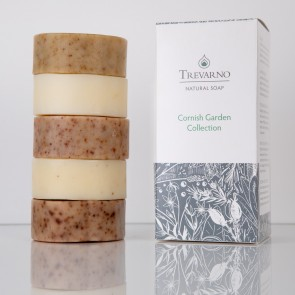 Trevarno Cornish Garden Selection Soap Set