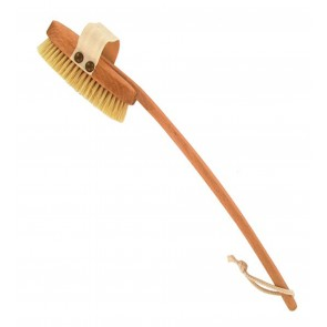 Forsters Curved Brush Detachable Handle Beech Wood & Natural Bristle