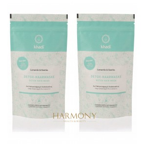 2 x Khadi Detox Hair Mask