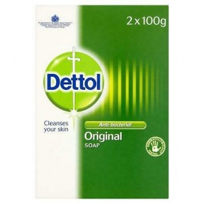 Dettol Twin Pack Anti-Bacterial Soap100g each