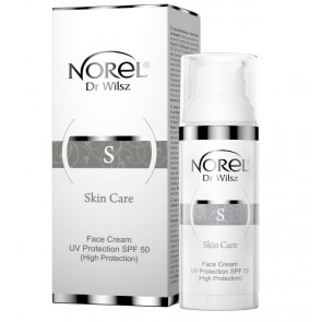 Norel Skin Care Face Cream UV SPF 50 Protection