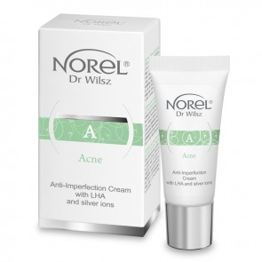 Norel Acne Anti Imperfection Cream with AHA & Silver Ions
