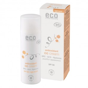 Eco Cosmetics Tinted CC Cream Antioxidant SPF 50