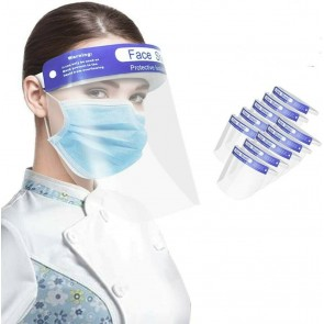 PPE Face Visor Protection Mask Shield Clear Plastic Transparent