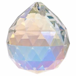 Feng Shui Crystal Sphere Bright Pearl