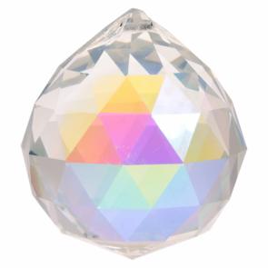 Feng Shui Crystal Sphere Dark Pearl