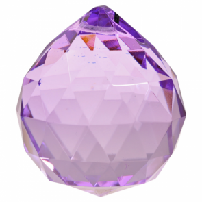 Feng Shui Crystal Sphere Purple