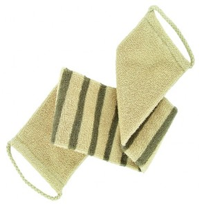 Forsters Massage Strap Striped Certified Organic Linen & Cotton