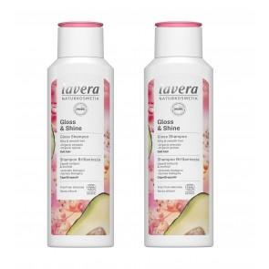 2 x Lavera Gloss & Shine Shampoo