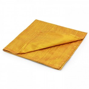 Large Gold 100% Silk Reading Cloth