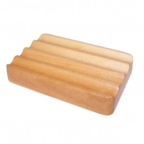 Hemu Wooden Soap Dish Corrugated
