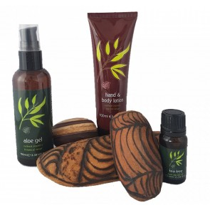 Outback Organic Soothing Aloe Vera & Tea Tree Body Set