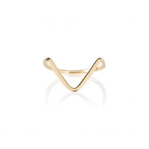 Avantgarde gold ring