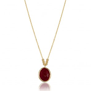 Red Velvet Ruby Necklace Marie Claire
