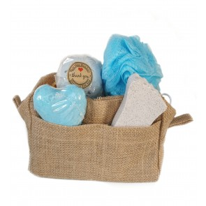 Lavender Bath Time Travel Bag