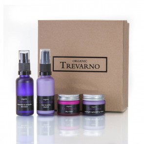 Organic Trevarno  Lavander & Geranium Face Gift Set