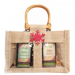 Kuumba Made Body Lotion & Oil Bag Gift Set
