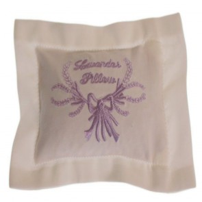 Cotton Pillow Pouch Filled with Lavender