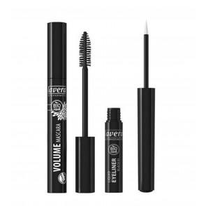 Lavera Bio Organic Natural Volume Mascara & Eyeliner Black Mascara