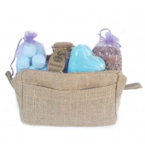 Lavender Field Time Travel Bag