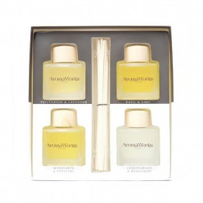 Aromaworks Light Range Reed Diffuser Gift Set 4 x 100ml
