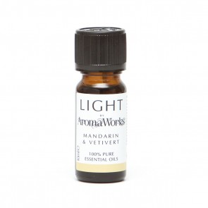 Aromaworks Light Range Mandarin & Vetivert Essential Oil