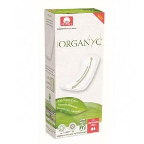 Organyc Organic Panty Liners Flat Extra Long 20per pack