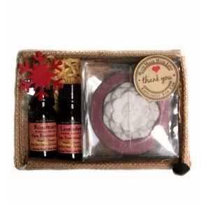Lotus Aroma Stone Diffusers & Essential Oils Set