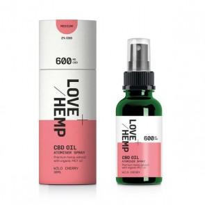 Love Hemp Oil Liquid Drops Wild Cherry 30ml